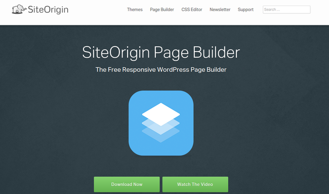 site origiin page builder